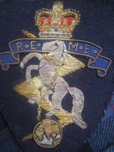British Military Badge Royal Electrical & Mechanical Engineers-REME
