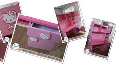 9 mẫu bàn học Kitty dễ thương màu hồng dành cho bé gái