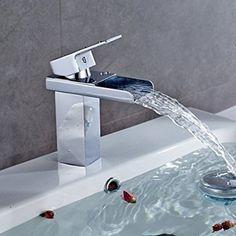 Auralum® Chrom Edelstahl Mischbatterie Armatur Wasserhahn Waschtisch…