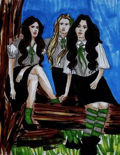 The Black Sisters by Isabel Dishington [©2012]