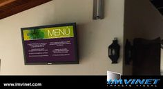 IMVINET - Digital Signage - Señalizacion Digital: Cartelera Digital del Caracas Country Club