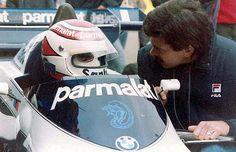 Nelson Piquet et Gordon Murray