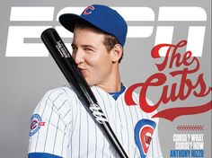 ESPN magazine Baseball The Chicago Cubs Anthony Rizzo Theo Epstein Joe Maddon What an adorable man oh my lanta. Mexico 86, Chicago Cubs Baseball, Espn Baseball, Baseball Quotes, Baseball Sister, Baseball Boys, Softball, Cubs World Series, Cubs Win