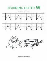 The Letter W is for Whale | Motor skills, Children s and Opportunity