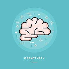 brain-icon-flat-design-line-style-banner-vector-id493239022 (416×416)