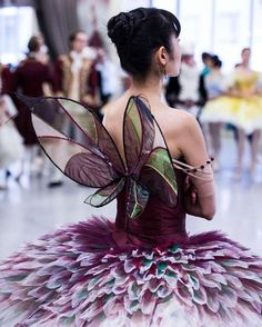 """""""Members of the Australian Ballet in (beautifully) costumed rehearsals for David McAllister's The Sleeping Beauty / Photo by Kate Longley I found out the…"""""""