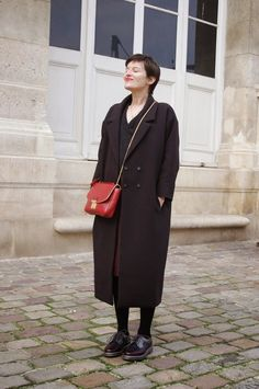 Fall Winter Outfits, Autumn Winter Fashion, Paris Vintage, Paris Mode, Black And White Style, Parisian Chic, Retro Chic, Classic Outfits, Mode Style