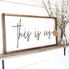 Timber + Gray Design Co. is a popular online store featuring custom farmhouse wood signs, home decor, rustic & modern hand built furniture.
