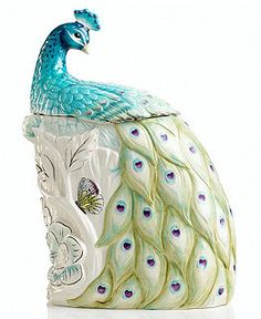 Edie Rose by Rachel Bilson Dinnerware, Peacock Cookie Jar