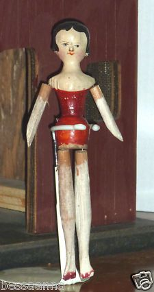 Antique (Pre-1930) Wood Dolls | eBay