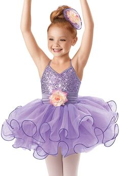 Sequin Curly Hem Ballet Dress -Weissman Costumes**In Pink for our Good Witch Attendents**