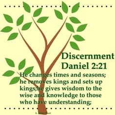 """Discerning the """"Will of God and not man's will""""."""