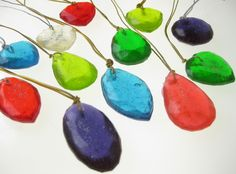 Candy Jewel Necklaces