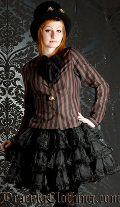 #Steampunk $61 from www.draculaclothing.com