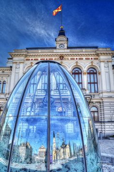 Tampere, Finland - reflections by penttja, via Flickr