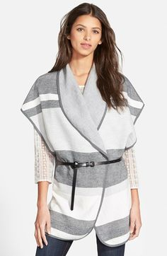 Hinge+Stripe+Cape+available+at+#Nordstrom