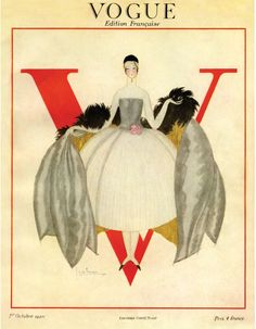 Flash-back | La couverture du numéro d'octobre 1920 de Vogue Paris