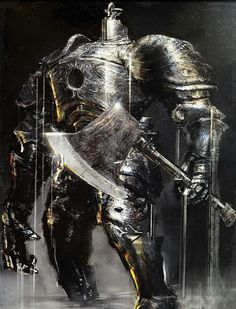 Iron Golem. Dark Douls.