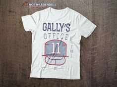 Gally's Office tees are back in stock at www.NorthLegends.ca