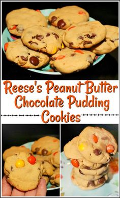 Reese's Peanut Butter Chocolate Pudding Cookies: these are my ideal gooey bite size treat and they are now one of my go to desserts for parties and pot lucks!