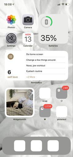 Iphone Layout, Homescreen, Calendar, Life Planner