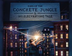 """Check out new work on my @Behance portfolio: """"King of the Concrete Jungle & His Electrifying Tale"""" http://be.net/gallery/37548251/King-of-the-Concrete-Jungle-His-Electrifying-Tale"""