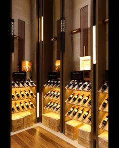 - Association for Retail Environments Wine Shop Interior, Alcohol Shop, Wine Cellar Racks, Liquor Shop, Home Wine Cellars, Wine Cellar Design, Wine Display, Wine Wall, Wine Cabinets