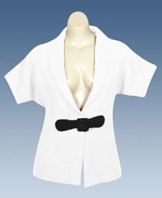 Plus Size Cream Shawl Collar Cardigan Derek Heart. $45.00
