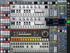 Properllerhead ReBirth for iPad - 2 TB-303's, TR-808 + TR-909. $15 on iTunes. http://bit.ly/GJOuCt