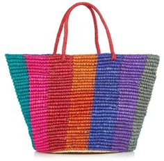 Pin for Later: 36 Colorful Straw Totes That'll Have Everyone at the Beach Talking  Sensi Studio Maxi Woven Tote ($189)