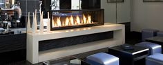 Custom fireplace, color: Custom