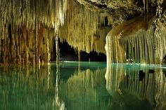 Rio Secreto Cave http://ordinarytraveler.com/articles/cenotes-caves-and-zip-lines-oh-my