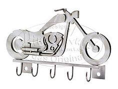 Metall-Schlüsselhalter Motorrad