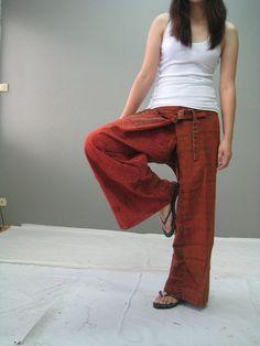 Fisherman pants (Thai Etsy shop)