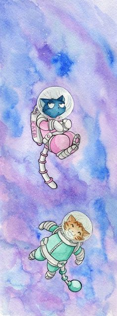 Floating in Space -
