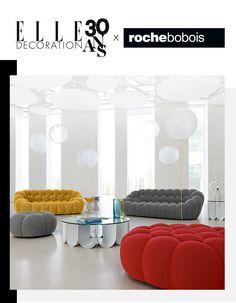 Votre canapé Bubble Roche Bobois d'une valeur de 4000€ - Elle Décoration