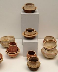 Pots and bowls by Binga Craft Centre, in collaboration with designer Sebastian Herkner