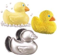Rubber Ducky Cake Pan - 3-D Rubber Ducky cake pan by Wilton