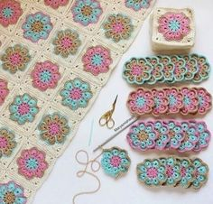 How to Crochet Flower, Make a Granny Square and Join Them 👕 Get your T-Shirt, Mug, Tote Bag, Case phone. and more perfect for your family members and friends by… Crochet Pattern - Check this out now! Benzer Çalışmalar No related posts. Crochet Motifs, Crochet Blocks, Granny Square Crochet Pattern, Crochet Squares, Crochet Blanket Patterns, Free Crochet, Knitting Patterns, Granny Squares, Crochet Blankets