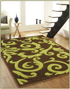 Brown And Green Area Rugs Sbybonnielee Com