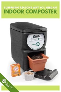 Are you tired of composting the old fashioned way? Save yourself some time by putting your scraps into an indoor composter. Compost Soil, Composting, Gardening Tips, Indoor Gardening, Easy Garden, Homemaking, Beautiful Gardens, Make It Simple, Things To Come