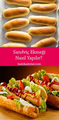 Hot Dog Buns, Hot Dogs, Sandwiches, Food And Drink, Bread, Recipes, Food, Brot