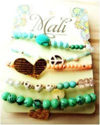 Pulsera, Mali Beaded Bracelets, Cake, Jewelry, Stud Earrings, Accessories, Jewlery, Jewerly, Pearl Bracelets, Kuchen