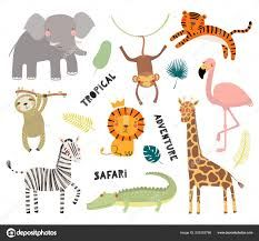 african animals for kids - Google Search Elephant Face, Giraffe, Safari Animals, Animals For Kids, Scandinavian Style, Flamingo, Face Images, African Animals, Kids Prints
