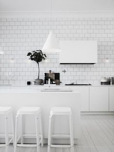 RECTANGULAR TILES WHITE FLOOR BOARDS