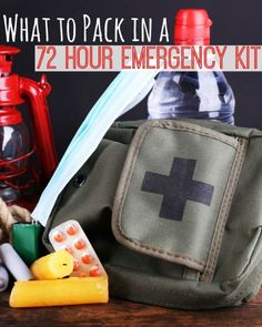 What to Pack in a 72-Hour Emergency Kit | Everything you need to know! eBay #spon