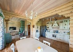 House In The Woods, My House, Cabin Interiors, Country Interior, Cabin Homes, First Home, Rustic Kitchen, Sweet Home, Home Decor