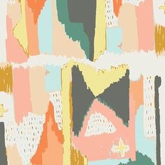 Art Gallery Fabrics - Painting Morale Knits by Art Gallery Fabrics are perfect for fashion, home décor and sewing. Art Gallery Fabrics has had Art Gallery Fabrics, Fabric Painting, Fabric Art, Cotton Fabric, Fabric Patterns, Print Patterns, Clothing Patterns, Sewing Patterns, Mini Crib Bedding