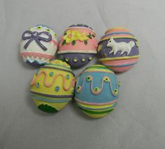 Vintage button covers  egg shaped  can also be by FeliceSereno, $8.00