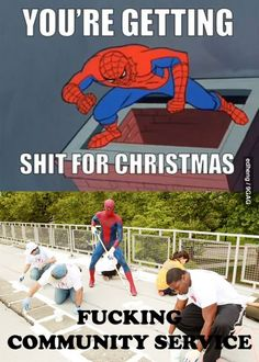 Spider-Man isnt above the law!